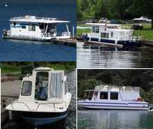 Small Houseboats