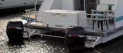 Twin Outboards Houseboat Designs