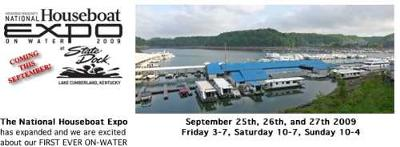 National Houseboat Expo - ON WATER Houseboat Show