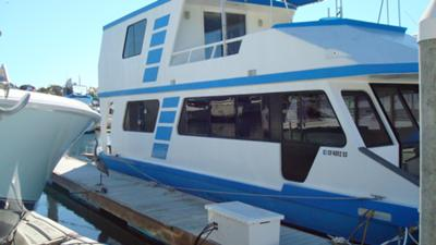 Sunseeker Houseboat - Extensive Upper Deck changes