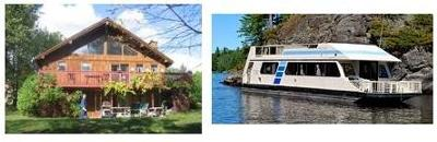 Houseboat Cottages - use house boats as waterfront property?