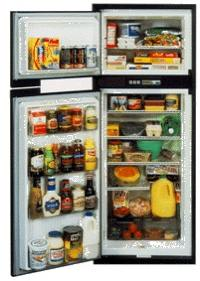A popular Norcold Marine refrigerator.