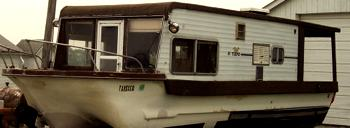 Yukon Delta Houseboat Is This A Rare Model Of House Boats