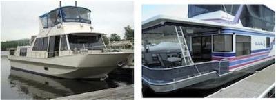 Houseboat Bow Stern Thrusters  - for fiberglass aluminum boats