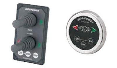 Houseboat Thrusters - get the POWER of the JOYSTICK
