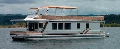 New Houseboats For Sale - large pontoon boats