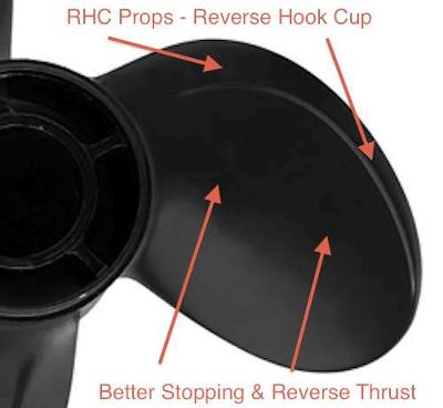 RHC Boat Props - better propellers for houseboats