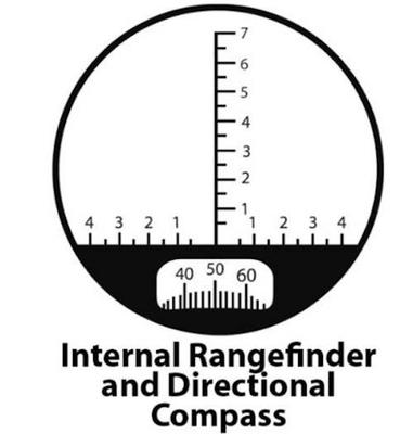 BETTER Binoculars, 7x50 zoom, a digital compass and rangefinder