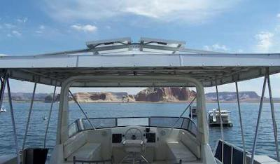 Houseboat Roof - add a solar panel for more energy
