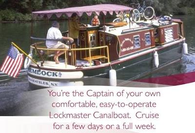 Unique Houseboat Rentals - be the Captain and rent a rare Canal Boat