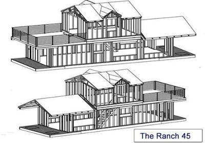 New Houseboat Cottages - small 30x12 to large 55x16
