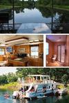 Houseboats have everything you need to relax, or entertain your family