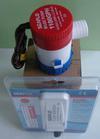 Bilge Pumps - 1100 GPH pump with automatic float switch