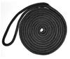 Black Nylon Double Braid Dock Lines