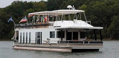 New Pontoon Houseboat For Sale - custom house boats