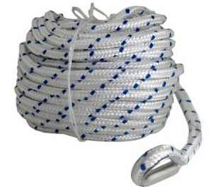 Braided Nylon Anchor Rope 3/8, 1/2, 5/8