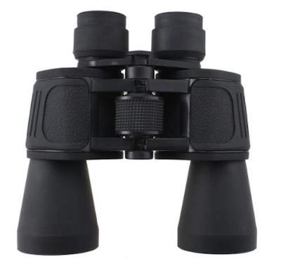 GOOD Binoculars, 7x50 zoom, lens caps & carry case