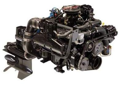 Houseboat Motors - complete Mercruiser engine packages