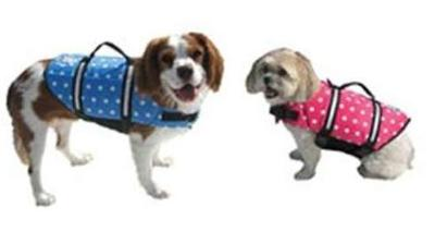 PFD Life Jacket for Dogs & Pets on Houseboats