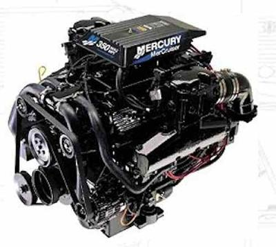 Houseboat Engines - complete Mercruiser motor packages