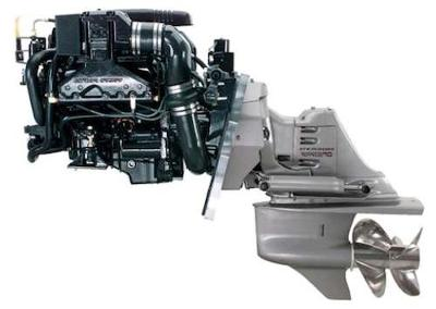 Houseboat Engines - complete Volvo motor drive packages