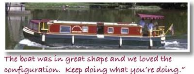 Canal Boat Rentals - rent your own houseboat