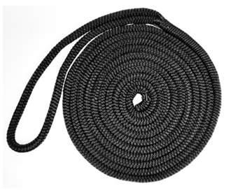 Black Nylon Double Braid Dock Lines