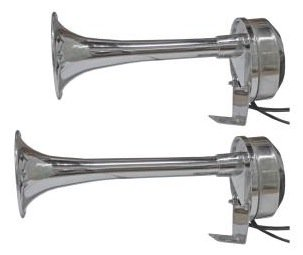 12v Marine Electric Horns 9 and 11 inch