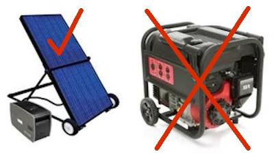 Houseboat Solar Panels - solar power, less generator fuel
